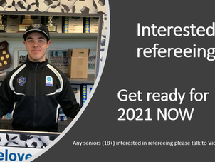 Interested in refereeing?