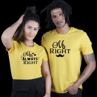 MR & MRS RIGHT
