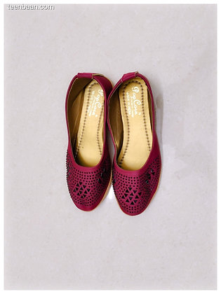 Girls' fashion cut shoes