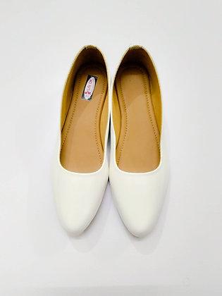 White Cut Shoe