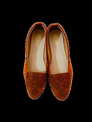 Velvet Cut Shoe