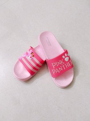 Women Pink Printed sliders