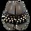 Thumbnail: Fur Pearls Open Toe Flat