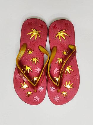 Stylish Flower Foot Flat