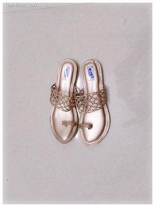 Women Braided One Toe Flats