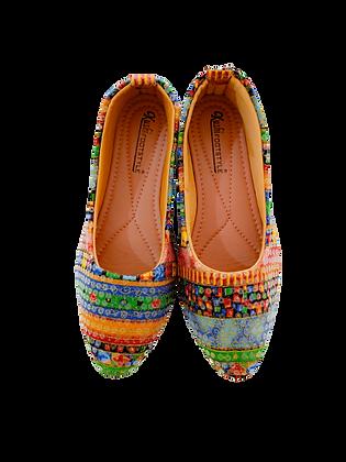 Kolapoor Multi Color Cute Shoe