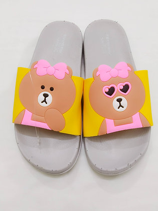 Color Panda Open toe Flat