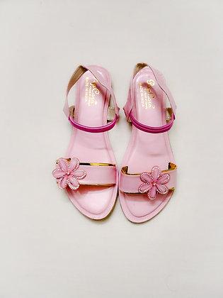 Flower Sandal Flat