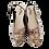 Thumbnail: Dot Silver Shoe Sandals