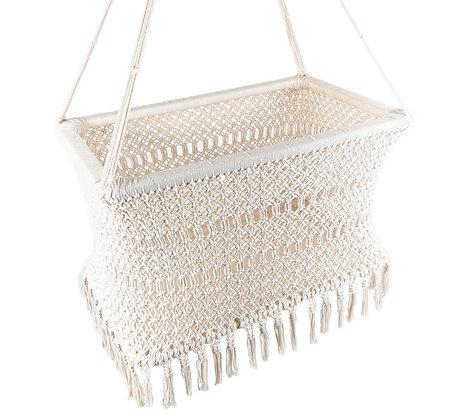 Hamaca Cuna Beige Algodón / Hammock Crib Beige Cotton