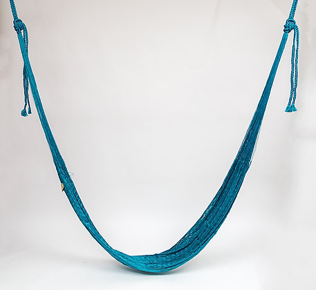 Hamaca Clásica Turquesa Nylon / Turquoise Classic Hummock Nylon