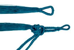 hamaca clasica detalle azul