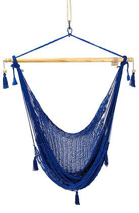 Hamaca Silla Azul Algodón /Blue Hammock Chair