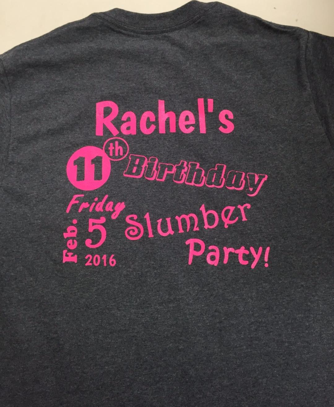 Rachel's Birthday
