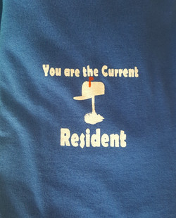 You are the Current Resident