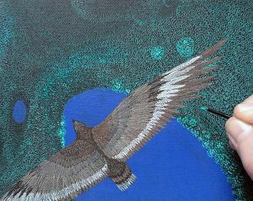 Monika Stanieski painting Above It All