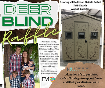 Deer Blind Raffle-Daniel and Shelby.png