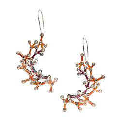 Al2O3 earrings