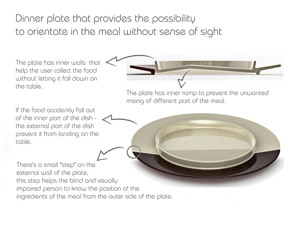 Oriento Dinner Plate