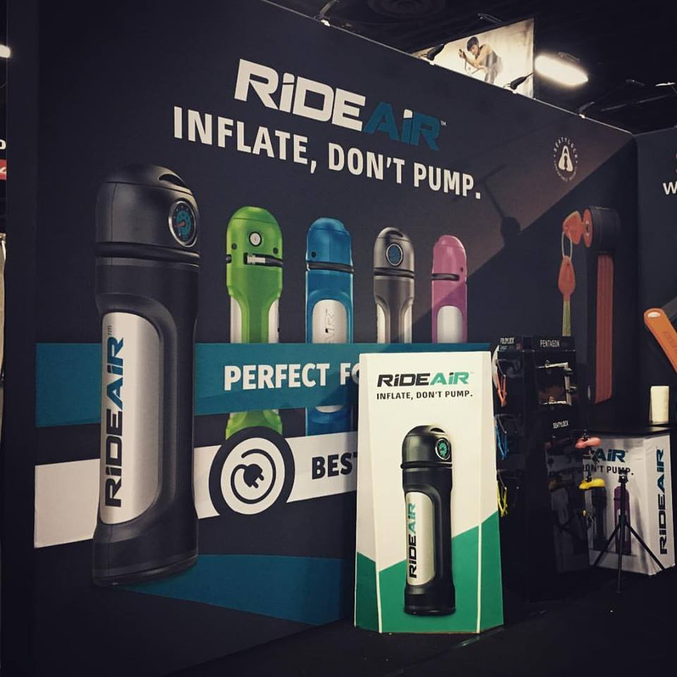 Renders at Interbike Exhibition