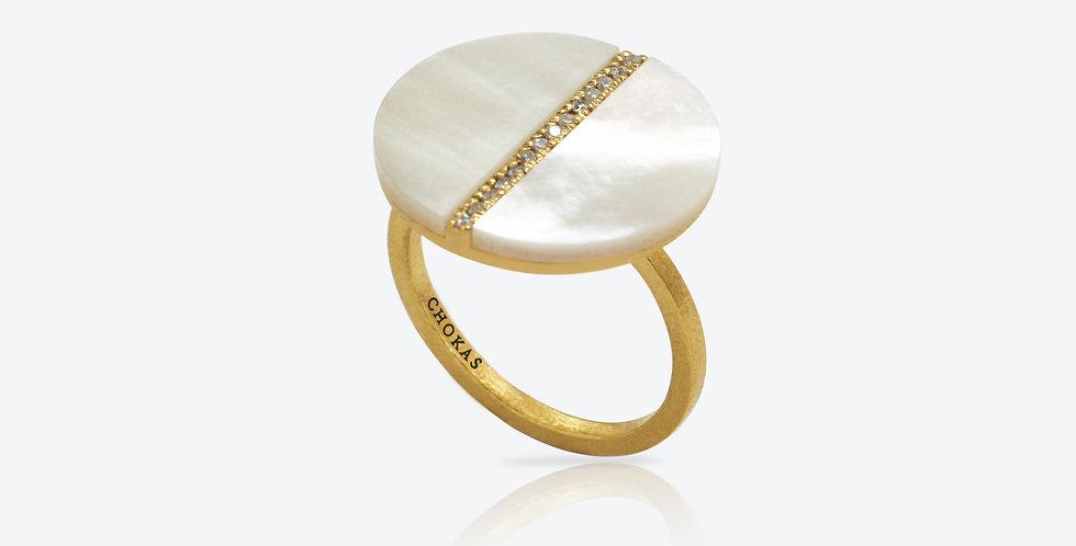 Artisanal Pearl Ring 563R55