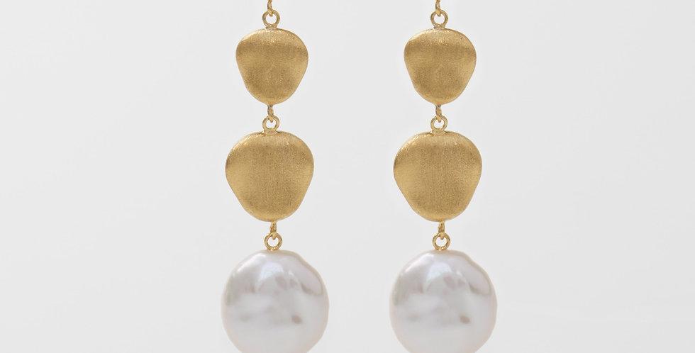Baroque Pearl Earring 607E10