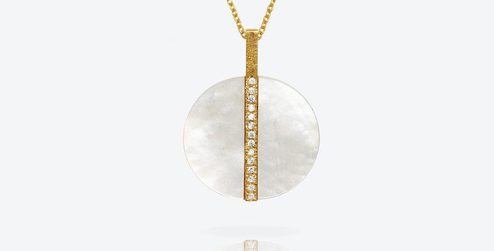 Artisanal Pear Pendant Chain #563P151