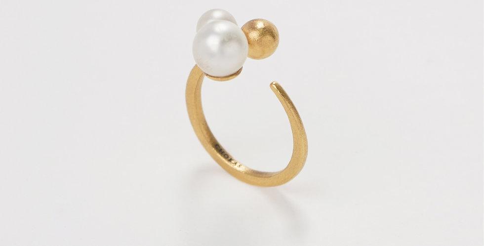 Modern Pearl Ring 504R41