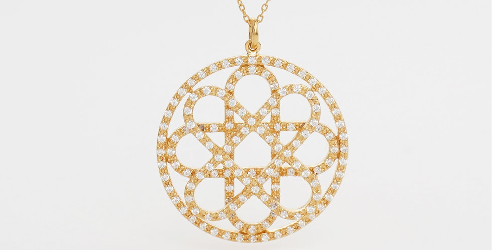 Symmety Pendant+ chain 237P158