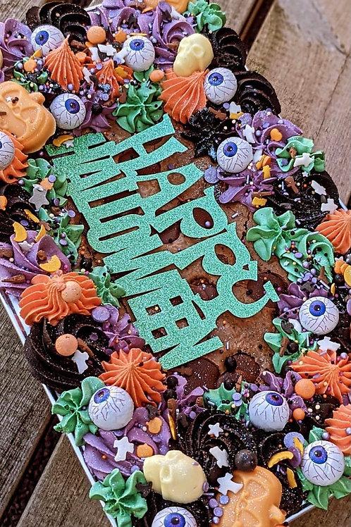 Halloween whole traybake