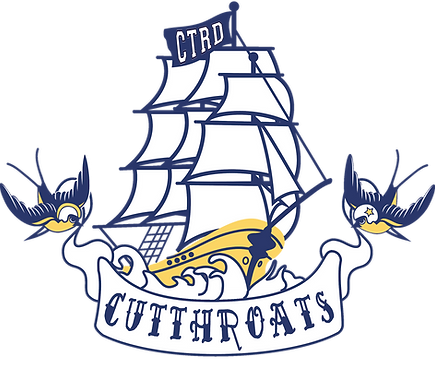 cutthroats-logo-gold-navy-on-white-outli