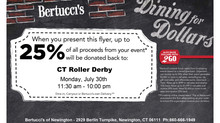 Dining for Dollars- Bertucci's for CTRD