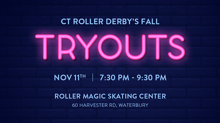 CT Roller Derby Fall Tryouts
