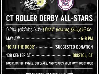 CT Roller Derby All-Stars Travel Fundraiser