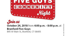 CTRD Dines at Five Guys Oct 24th