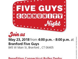 Five Guys Community Night