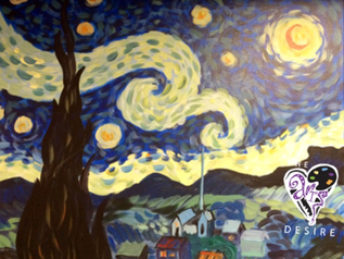 Starry Night with CT Roller Derby