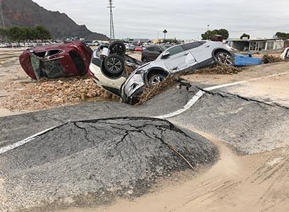 Los expertos advierten sobre un incremento del riesgo de inundaciones