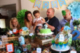 Dessert table and Candy buffet for our dinosaur themed first birthday party candy buffet and dessert table, dessert table Sydney, kids birthday party ideas, event styling