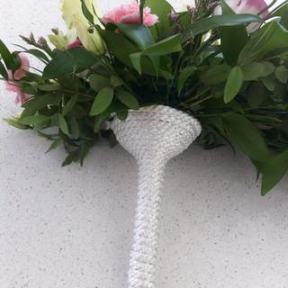 Bridal handle for shower