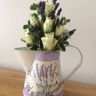 Rose & Lavender jug