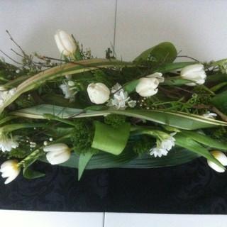 Spring flower tribute