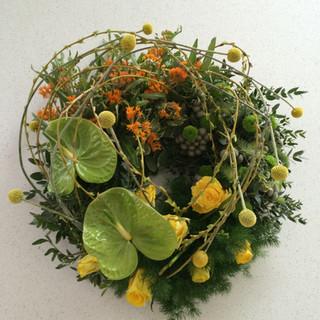 Anthurium wreath