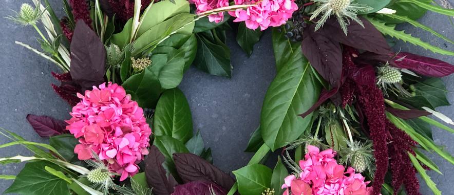 Hydrangea wreath.JPG
