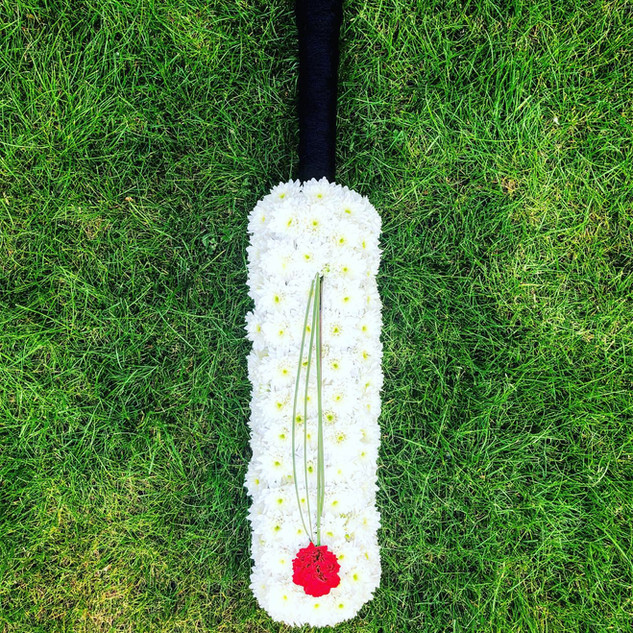 Cricket bat black handle