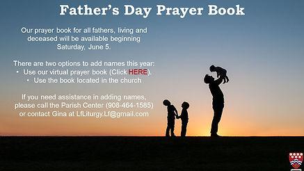Father's Day Prayer website flocknote.jp