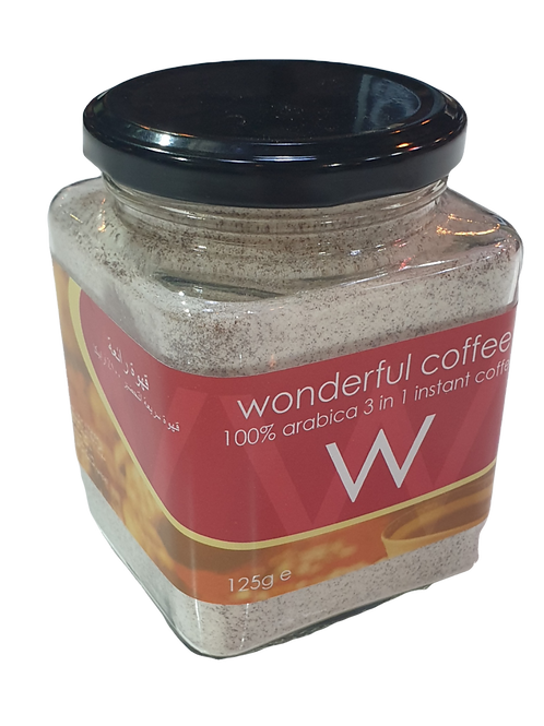 Instant Coffee 3 in1 Creamy Cappuccino 125g