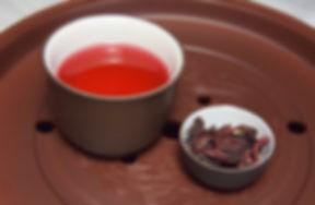 hibiscus tea on clay.jpg