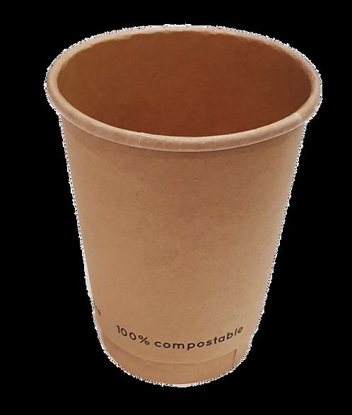 12oz Kraft Coffee Cup (Box of 500)