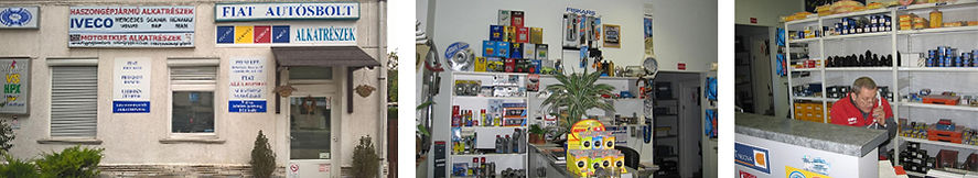 Győr alkatrész üzlet házhozszállítással